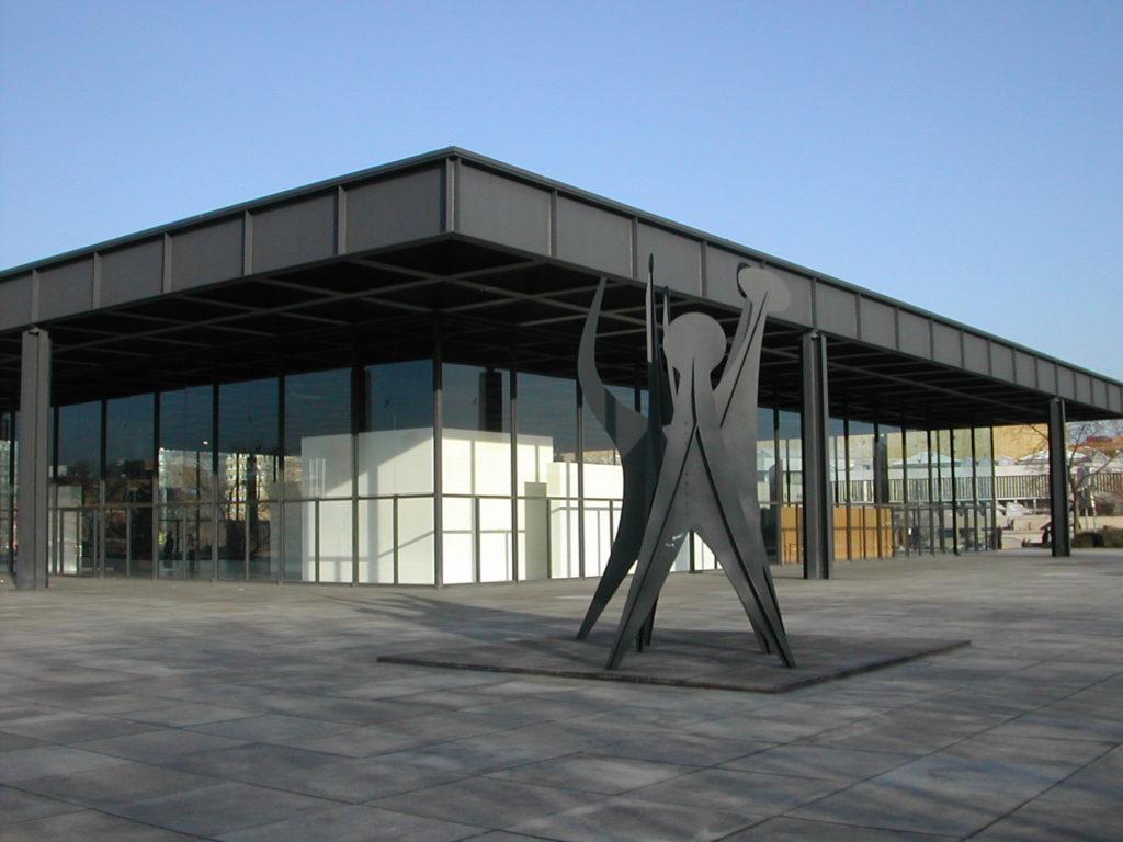 ベルリン国立美術館・新ギャラリー